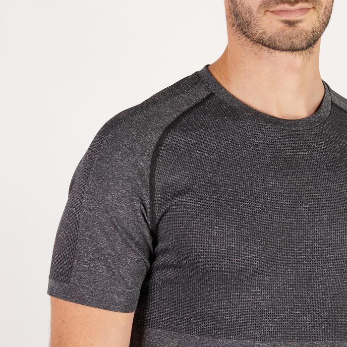 T-shirt PUMA fitness cardio homme Evoknit gris - 1271434