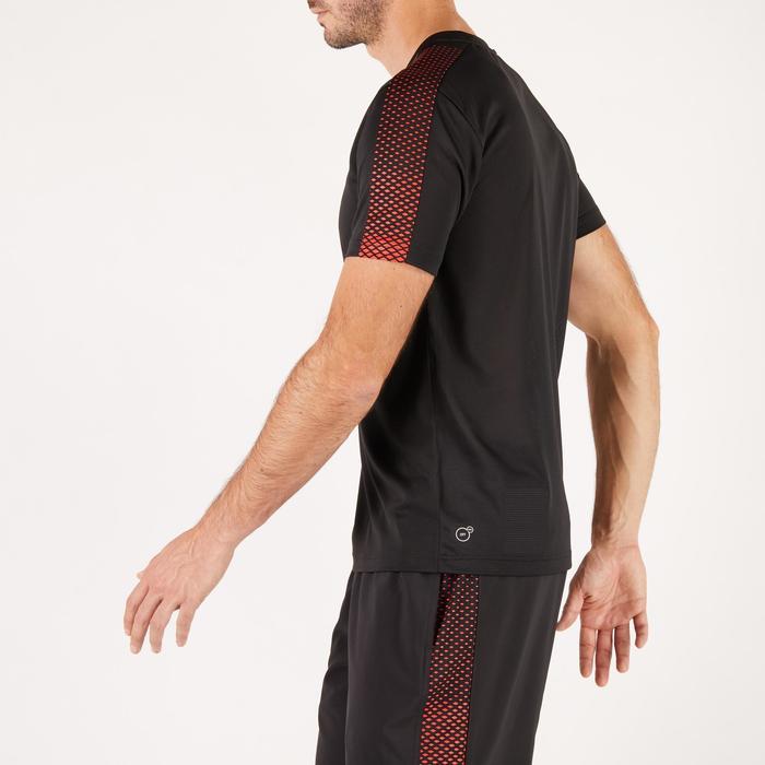 T-shirt PUMA fitness cardio homme noir rouge E2 - 1271435