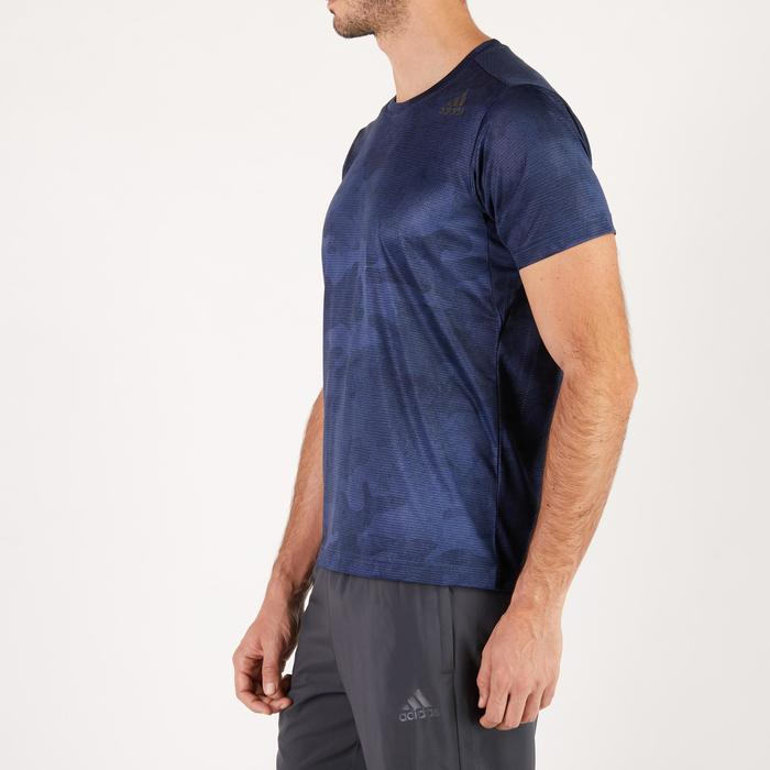 T-shirt ADIDAS freelift bleu - 1271448