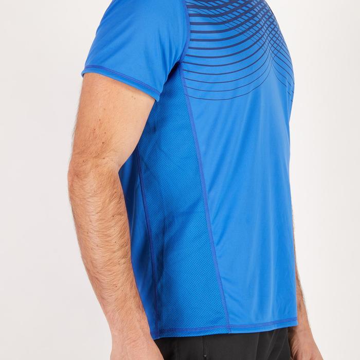 T-shirt fitness cardio homme noir imprimé FTS 120 - 1271473