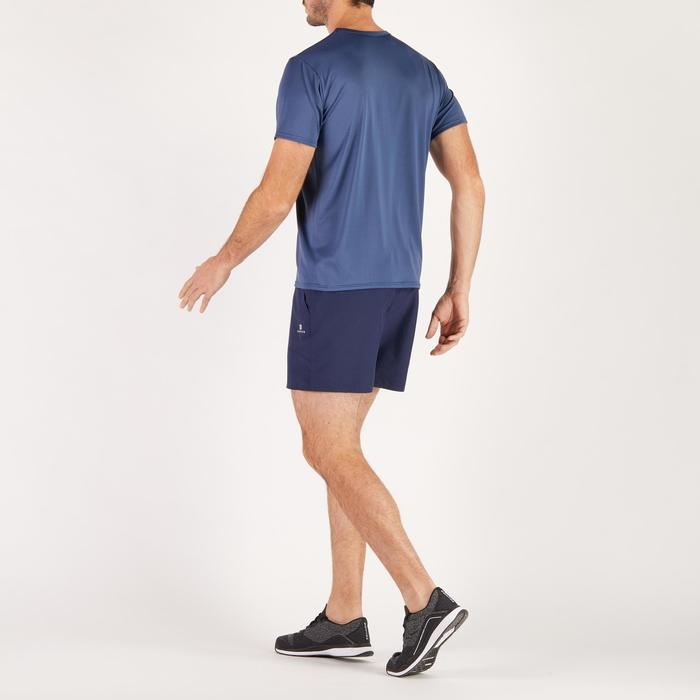 Camiseta de fitness Cardio para hombre azul marino FTS100