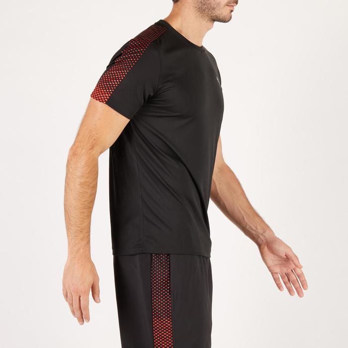 T-shirt PUMA fitness cardio homme noir rouge E2 - 1271520