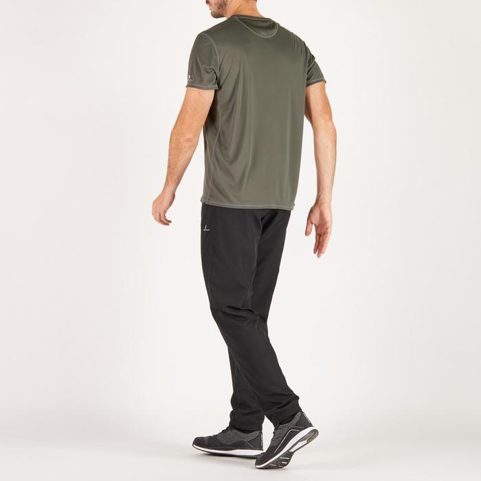 T-shirt fitness cardio homme noir imprimé FTS 120 - 1271524