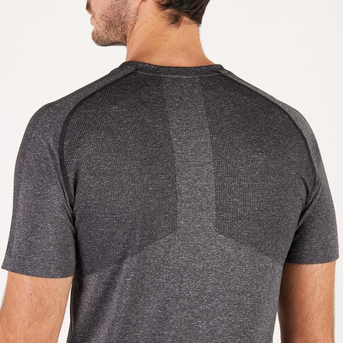 T-shirt PUMA fitness cardio homme Evoknit gris - 1271540