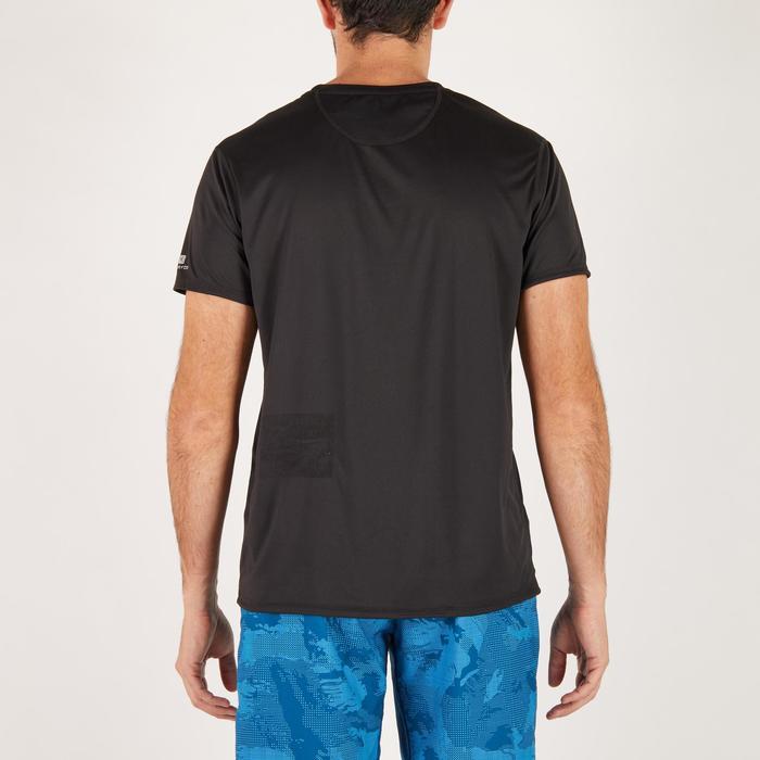 T-shirt fitness cardio homme noir imprimé FTS 120 - 1271545