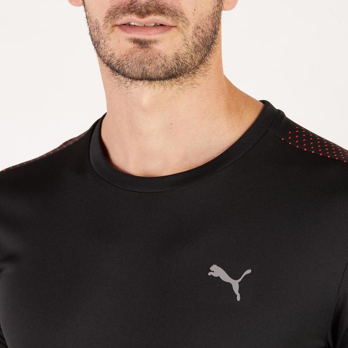 T-shirt PUMA fitness cardio homme noir rouge E2 - 1271552