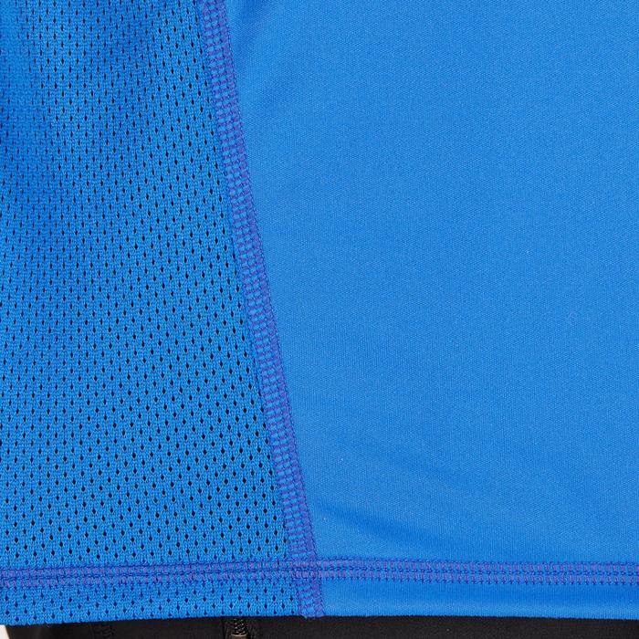 T-shirt fitness cardio homme noir imprimé FTS 120 - 1271581