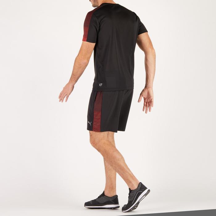 T-shirt PUMA fitness cardio homme noir rouge E2 - 1271583