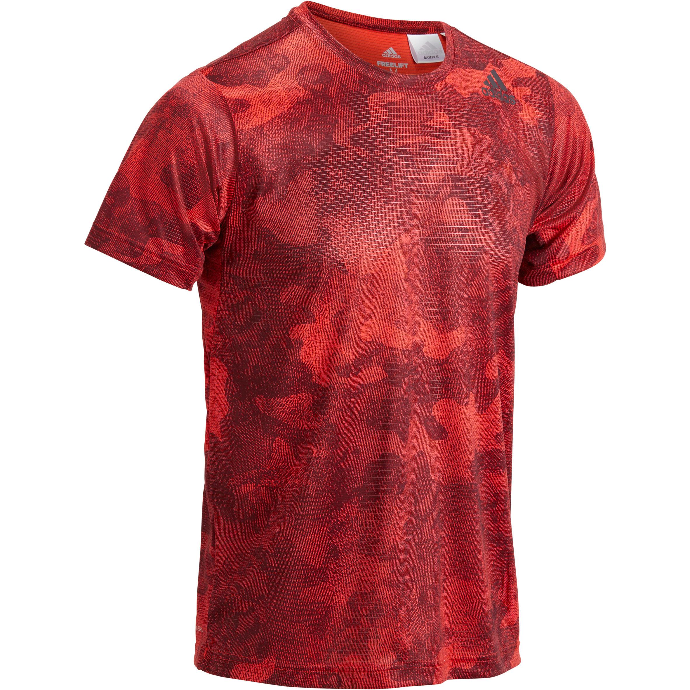 Adidas T-shirt Adidas freelift rood