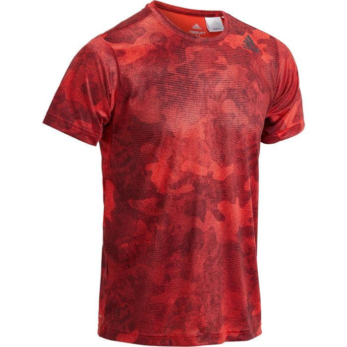 T-shirt ADIDAS freelift rouge - 1271621