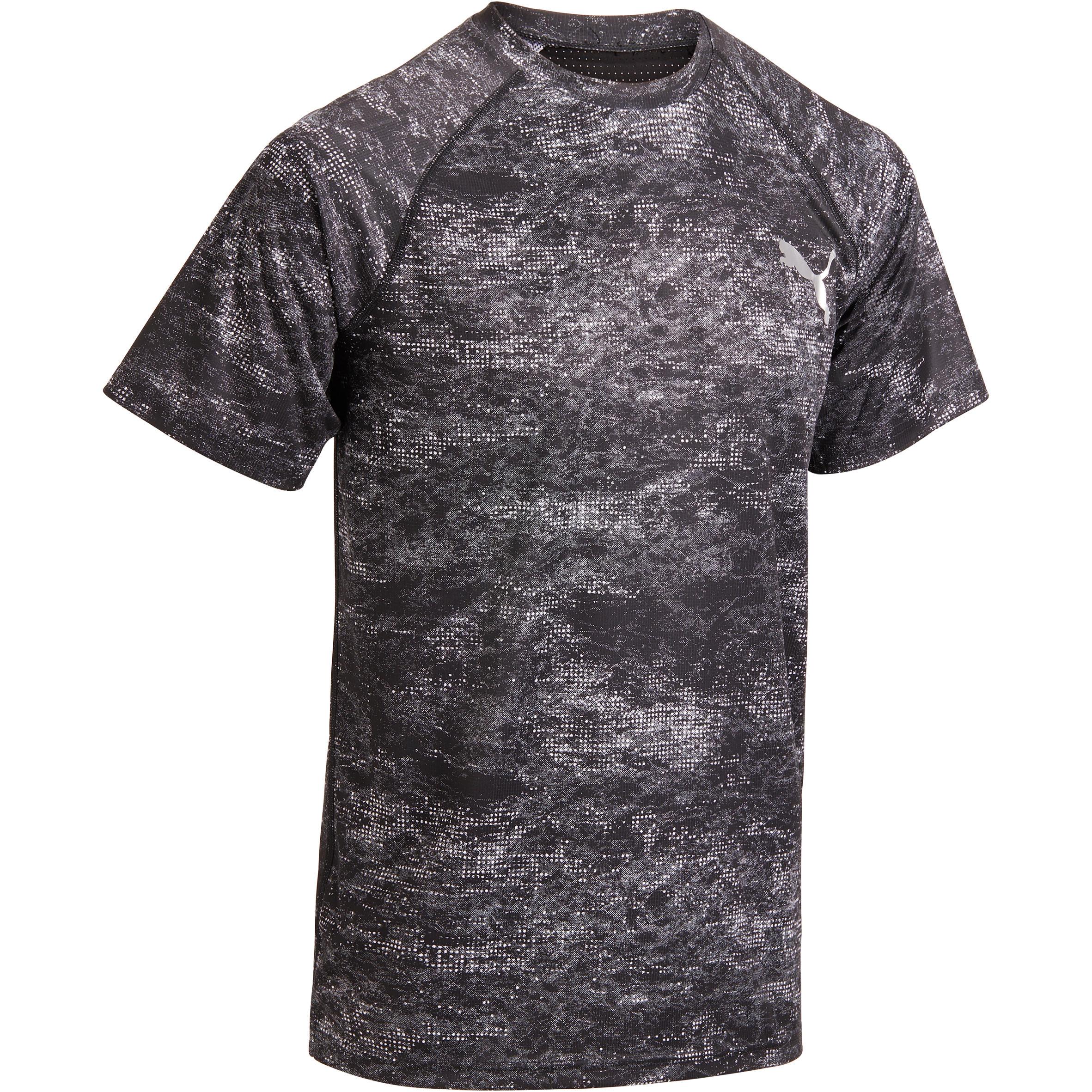 Puma T-shirt Puma zwart AOP