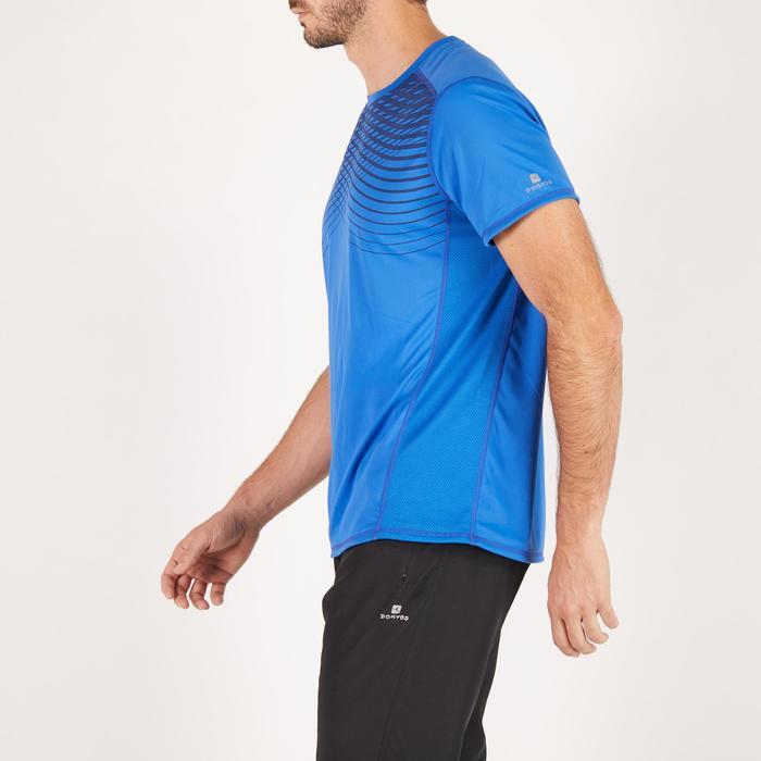 T-shirt fitness cardio homme noir imprimé FTS 120 - 1271630