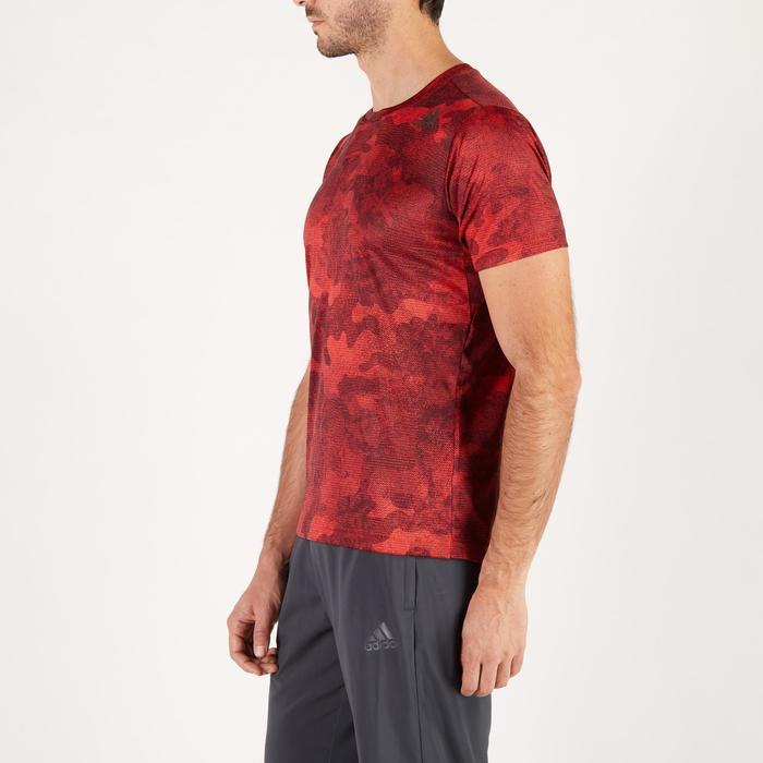 T-shirt ADIDAS freelift rouge - 1271631