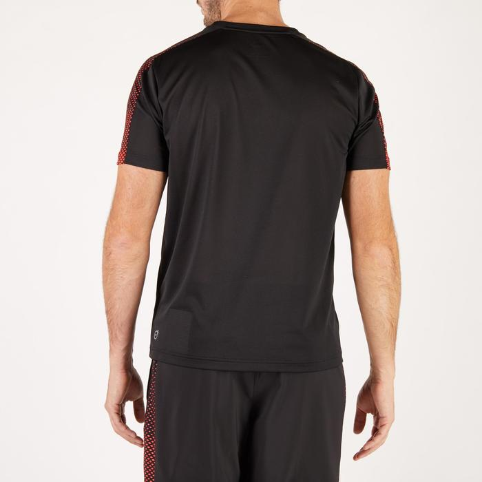 T-shirt PUMA fitness cardio homme noir rouge E2 - 1271640