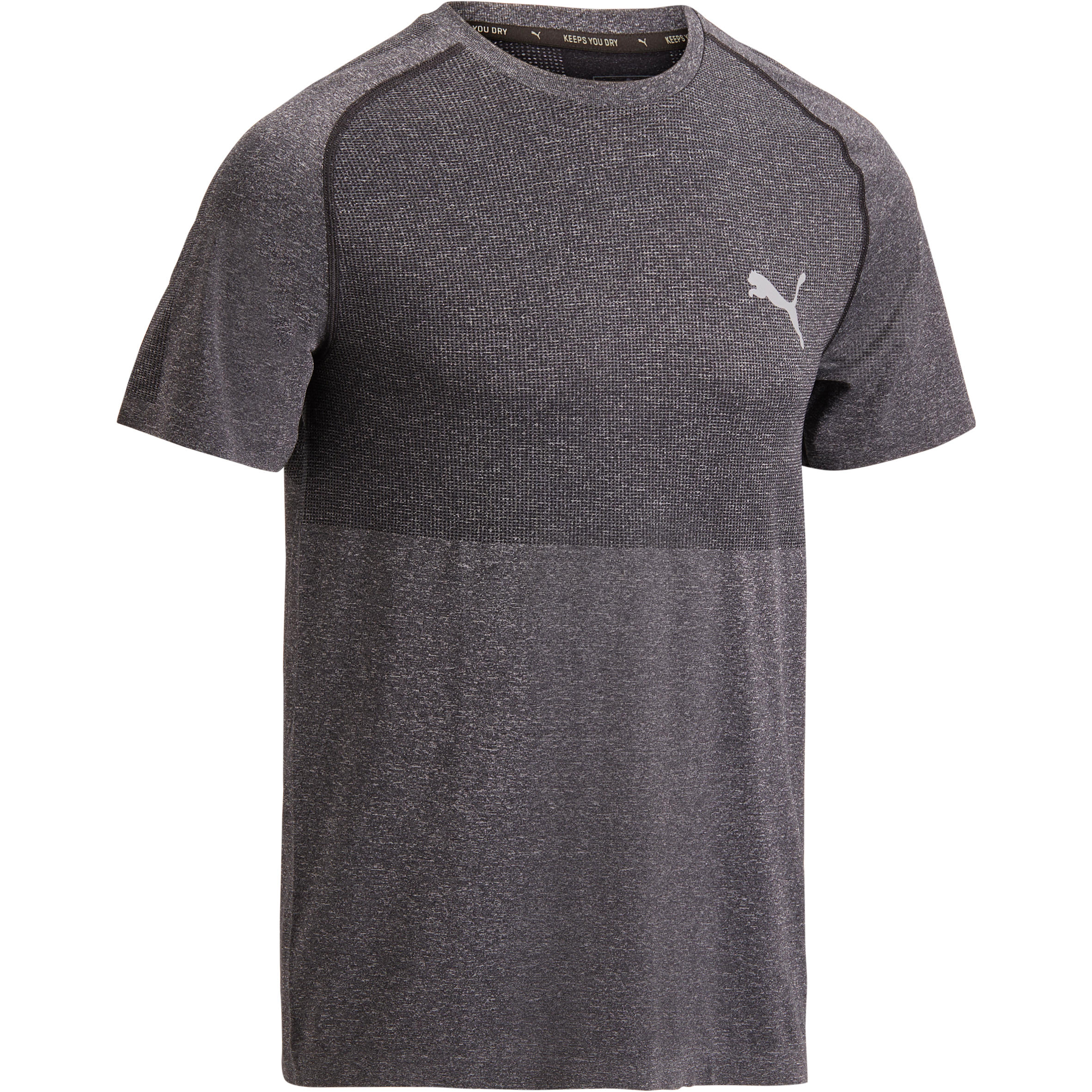 Puma Cardiofitness T-shirt Puma Evoknit voor heren grijs