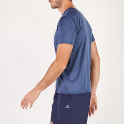 T-shirt entraînement Cardio homme bleu marin FTS100