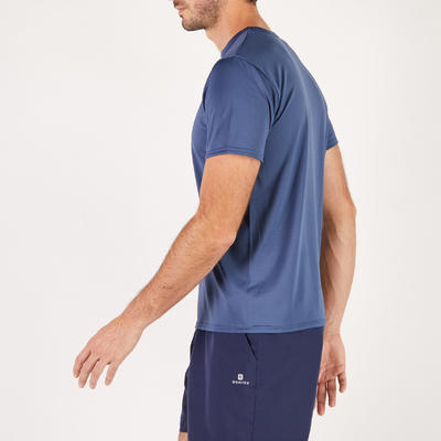 T-shirt fitness Cardio homme navy FTS100