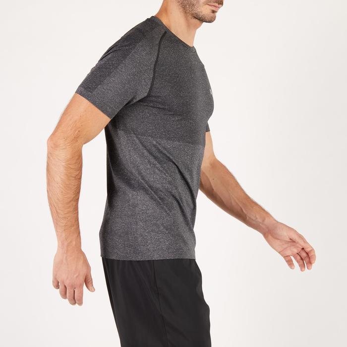 T-shirt PUMA fitness cardio homme Evoknit gris - 1271652