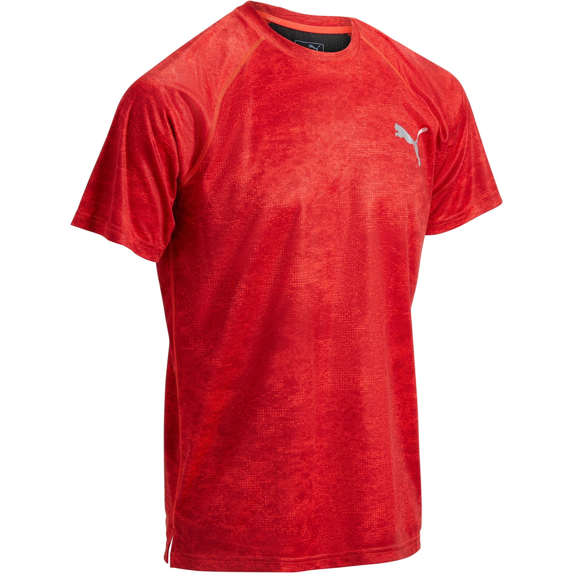 Puma T-shirt Puma rood AOP