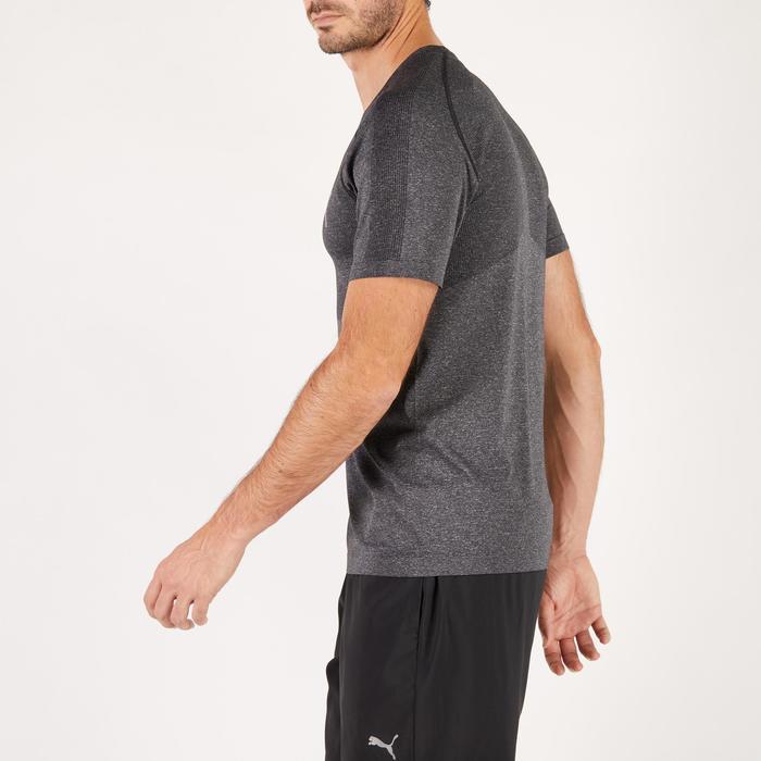 T-shirt PUMA fitness cardio homme Evoknit gris - 1271667