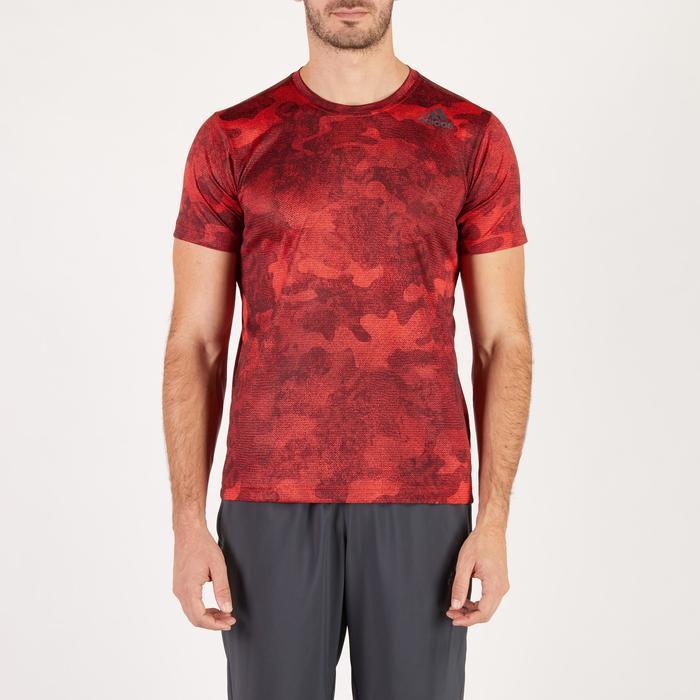 T-shirt ADIDAS freelift rouge - 1271668