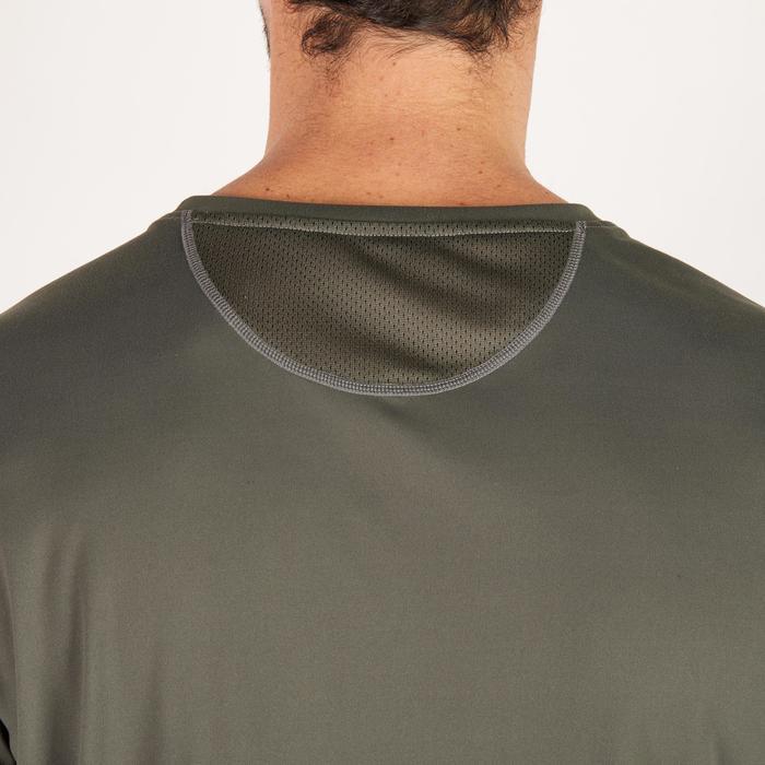 T-shirt fitness cardio homme noir imprimé FTS 120 - 1271672