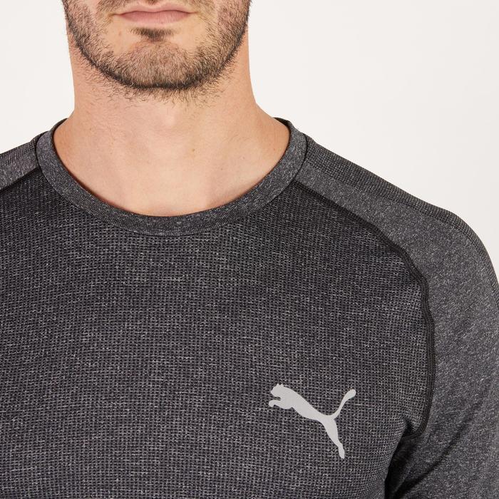 T-shirt PUMA fitness cardio homme Evoknit gris - 1271678