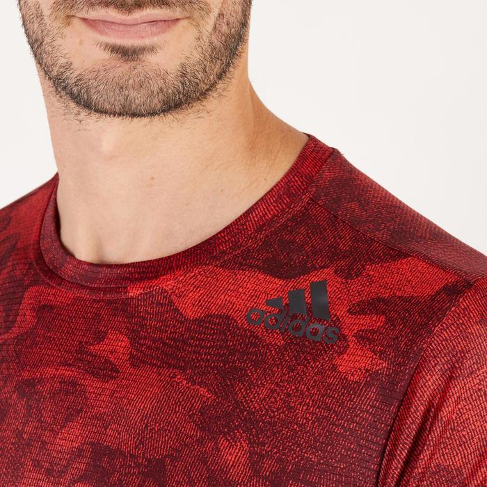T-shirt ADIDAS freelift rouge - 1271695