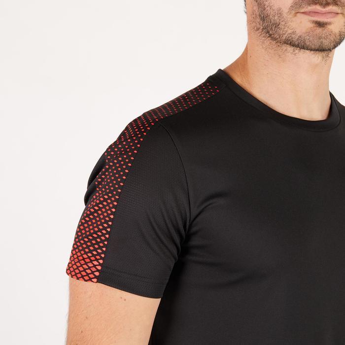 T-shirt PUMA fitness cardio homme noir rouge E2 - 1271712