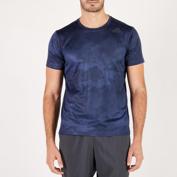 T-shirt ADIDAS freelift bleu - 1271716