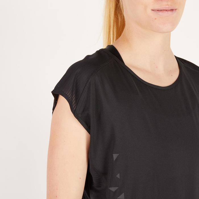 T-shirt loose fitness cardio femme avec imprimés 120 Domyos - 1271725
