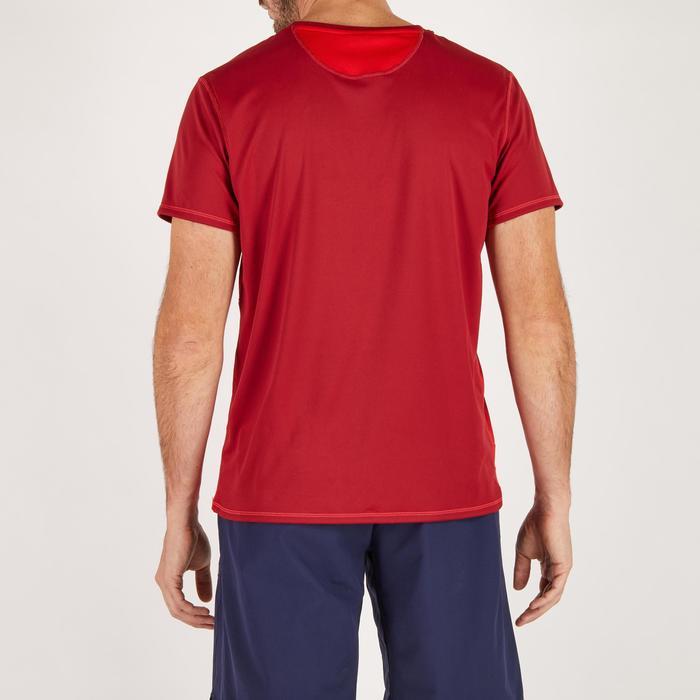 T-shirt fitness cardio homme noir imprimé FTS 120 - 1271736