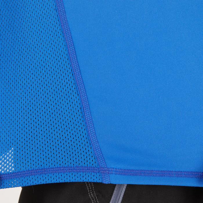 T-shirt fitness cardio homme noir imprimé FTS 120 - 1271745
