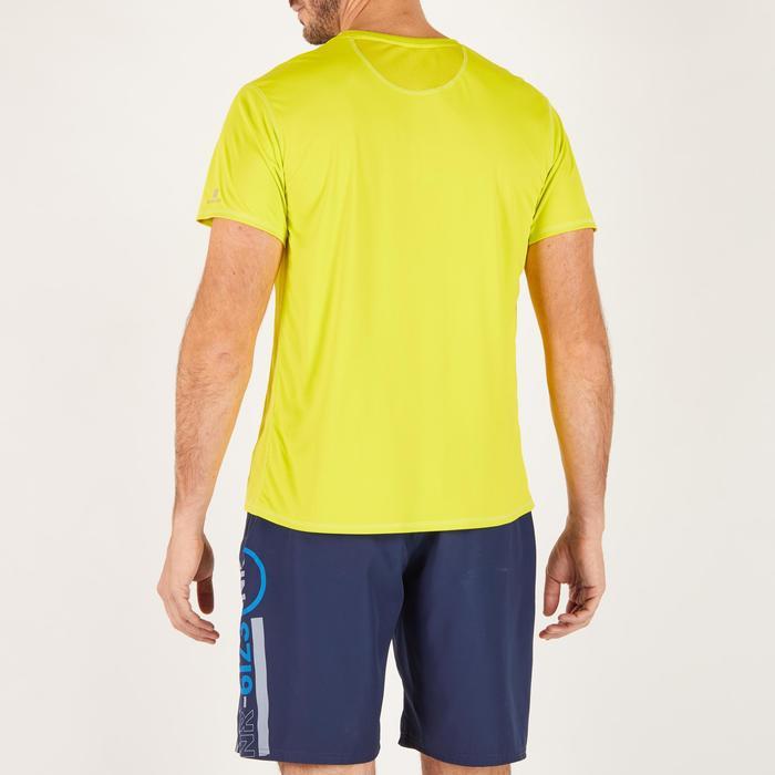 T-shirt fitness cardio homme noir imprimé FTS 120 - 1271752