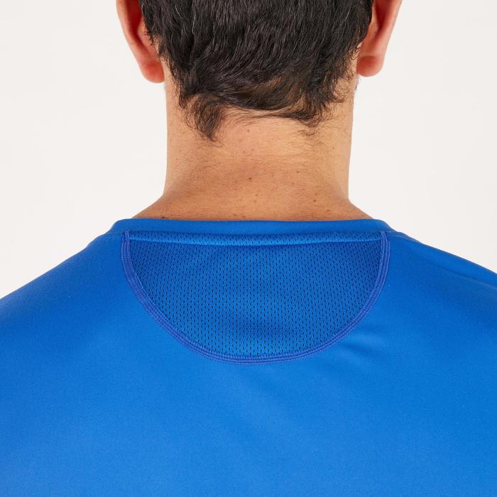 T-shirt fitness cardio homme noir imprimé FTS 120 - 1271786