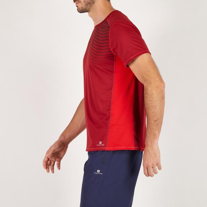 T-shirt fitness cardio homme noir imprimé FTS 120 - 1271807