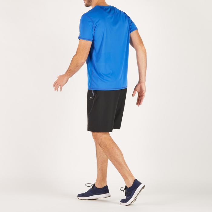 T-shirt fitness cardio homme noir imprimé FTS 120 - 1271810