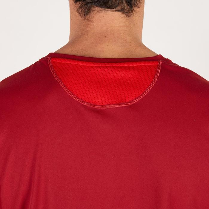 T-shirt fitness cardio homme noir imprimé FTS 120 - 1271814