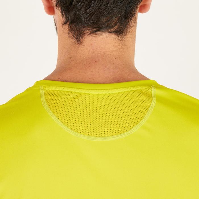 T-shirt fitness cardio homme noir imprimé FTS 120 - 1271816