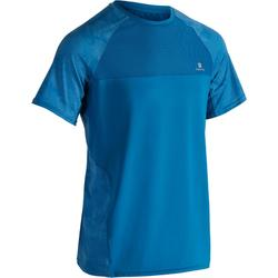 T-shirt fitness cardio homme NAVY FTS 500