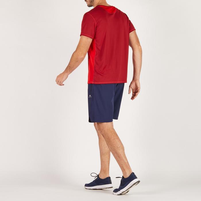 T-shirt fitness cardio homme noir imprimé FTS 120 - 1271836