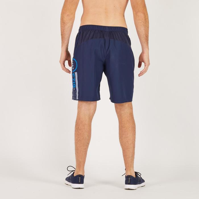 Short fitness cardio homme bleu marine FST120