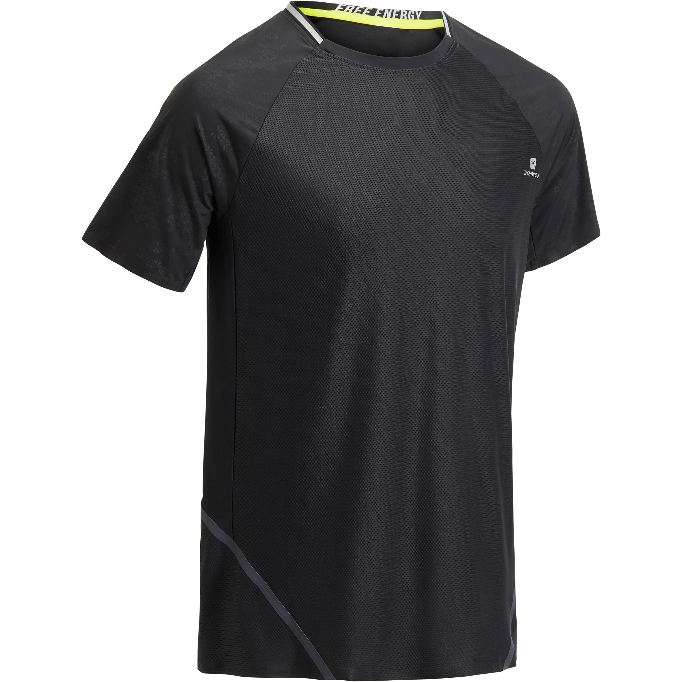 FTS920 Fitness Cardio T-Shirt - Black