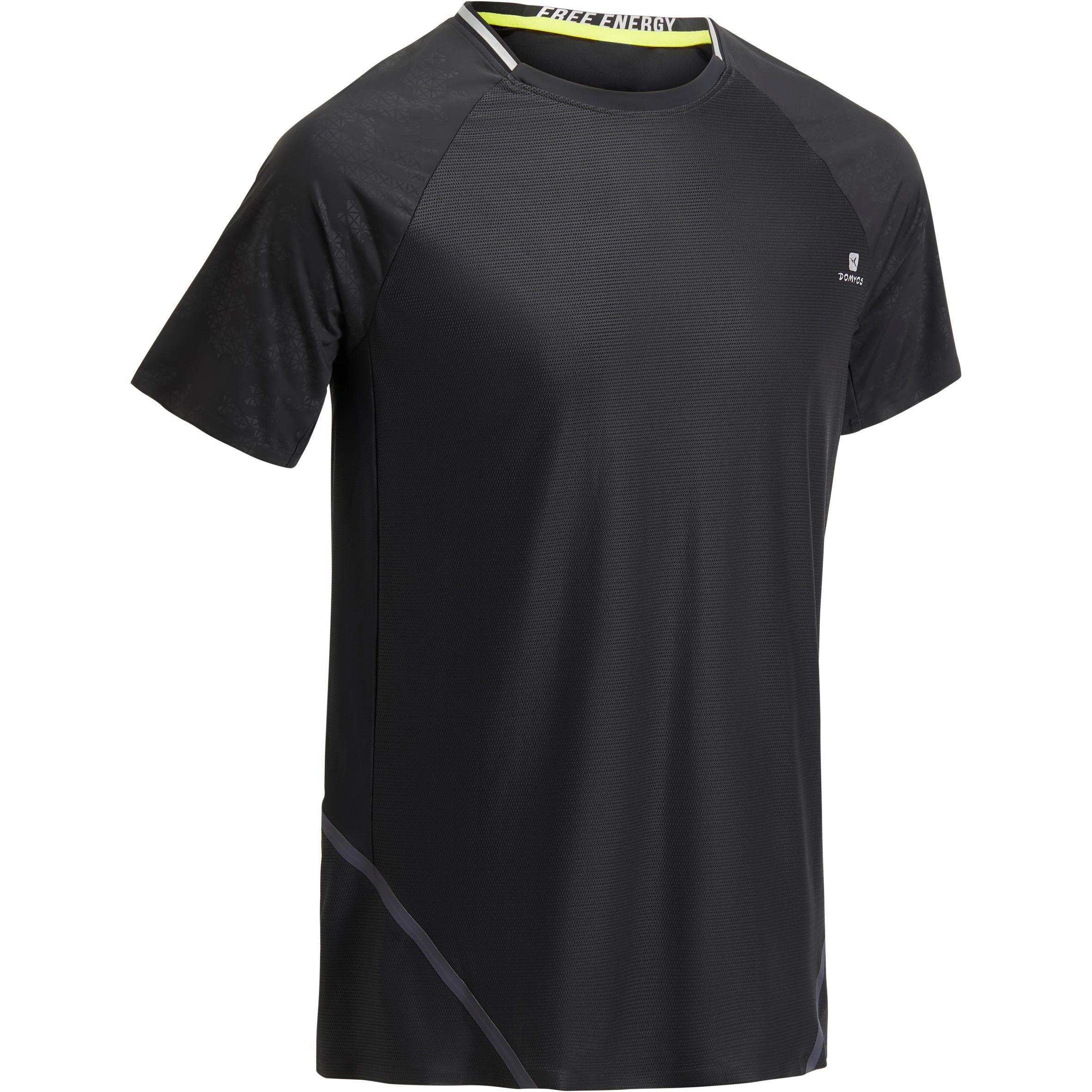 T-shirt entraînement homme NOIR FTS 920