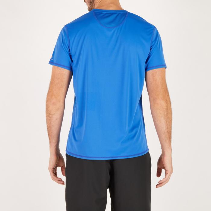 T-shirt fitness cardio homme noir imprimé FTS 120 - 1271882