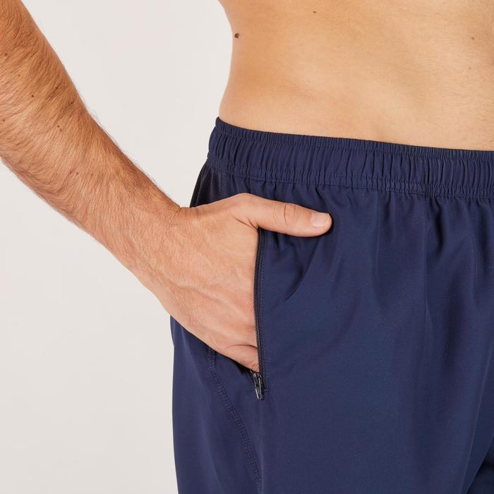 Cardiofitness short voor heren marineblauw FST120