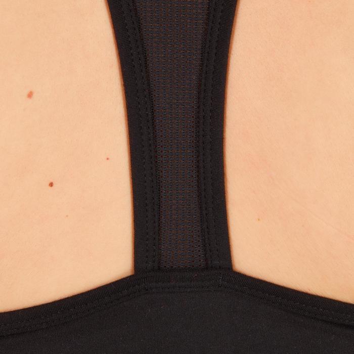 女款有氧健身訓練運動內衣100-黑色