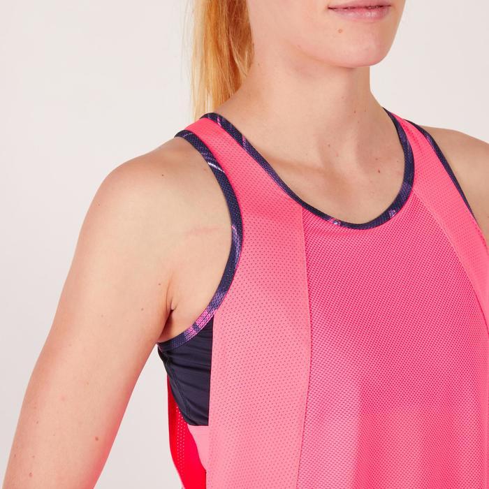 Débardeur brassière intégrée fitness cardio femme 500 Domyos - 1271921