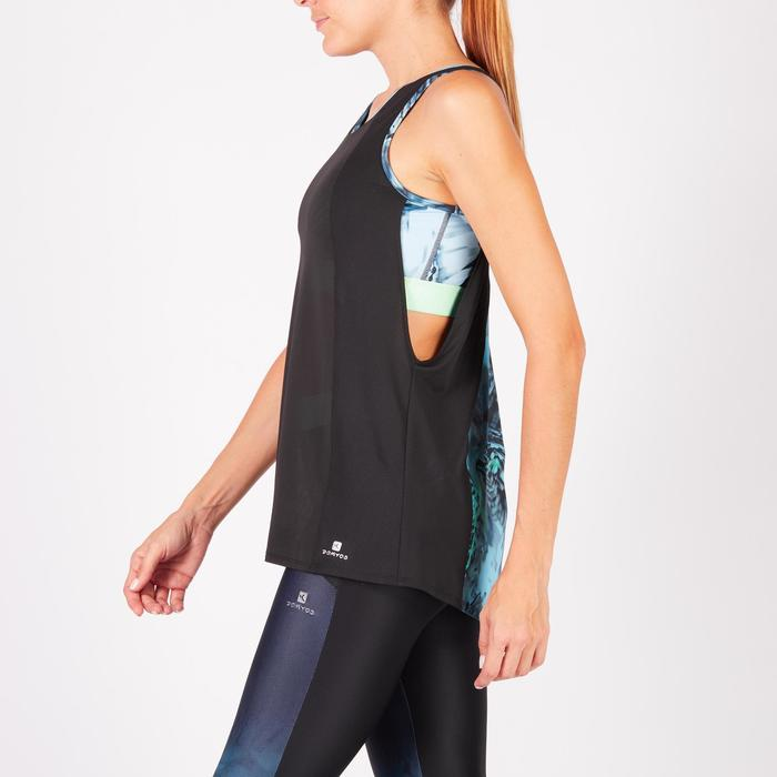 Débardeur brassière intégrée fitness cardio femme 500 Domyos - 1271953