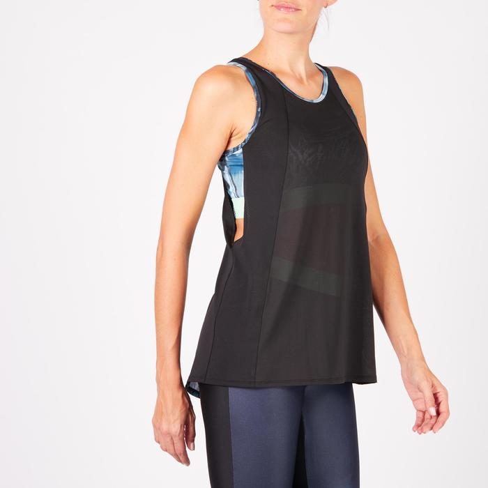 Débardeur brassière intégrée fitness cardio femme 500 Domyos - 1271965